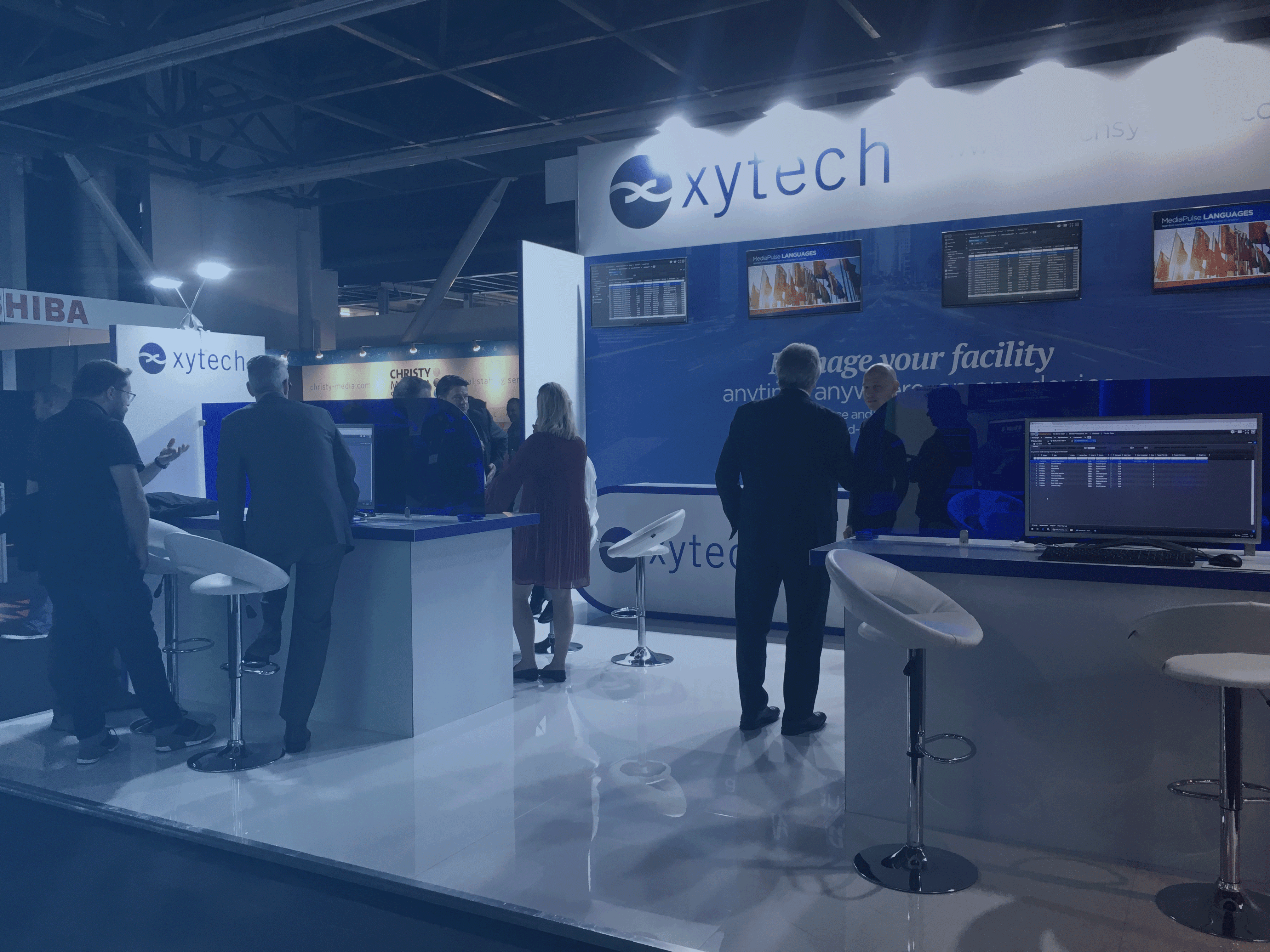 Request a meeting with Xytech at IBC